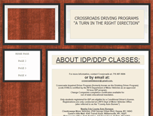 Tablet Preview of crossroadsdrivingprograms.info